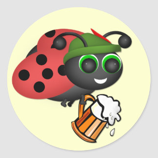 Oktoberfest Bug Sticker
