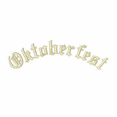 Oktoberfest Polos Bordados Manga Larga