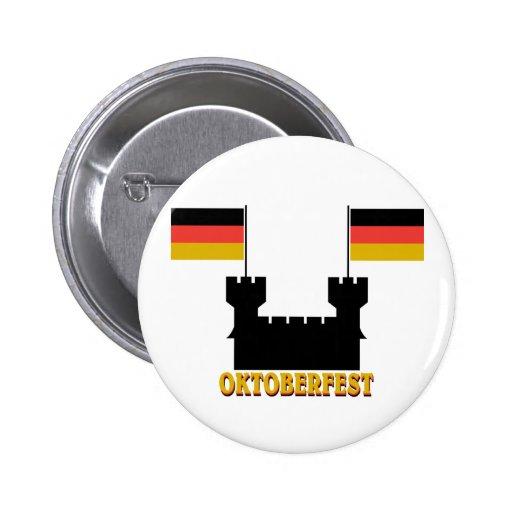 Oktoberfest Castle Buttons