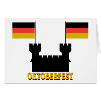 Oktoberfest Castle Greeting Card