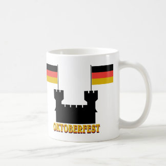 Oktoberfest Castle Classic White Coffee Mug