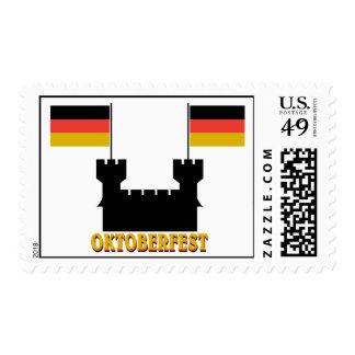 Oktoberfest Castle Stamp