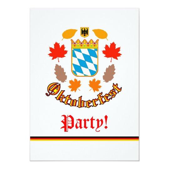 Oktoberfest Celebration Card