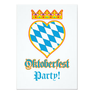Oktoberfest Celebration 5x7 Paper Invitation Card