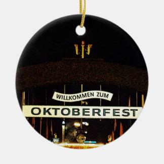 Oktoberfest Ceramic Ornament