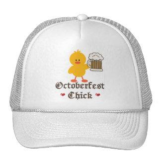 Oktoberfest Chick Cap Trucker Hat