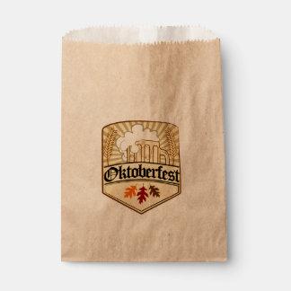 Oktoberfest color vector design favor bag