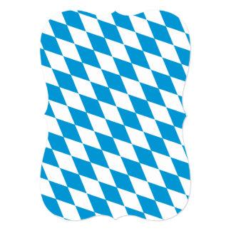 """Oktoberfest, colores de Baviera Invitación 5"""" X 7"""""""