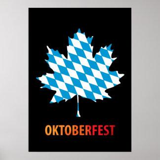 Oktoberfest, colores de Baviera Poster