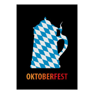 Oktoberfest, colores de Baviera Posters
