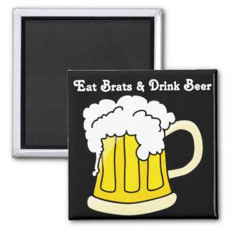 Oktoberfest come a palos de golf y bebe la cerveza imán de frigorifico