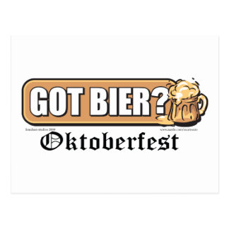 ¿Oktoberfest consiguió la féretro? Postal