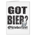 ¿Oktoberfest consiguió la féretro? Tarjetas