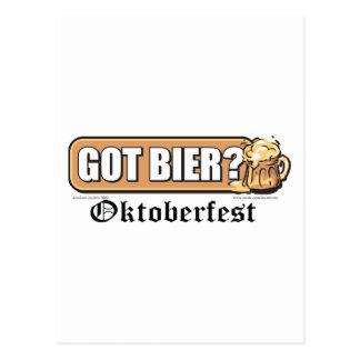 ¿Oktoberfest consiguió la féretro? Tarjetas Postales