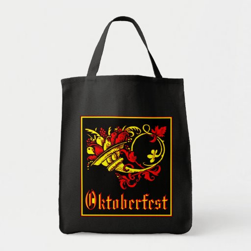 Oktoberfest Cornucopia Canvas Bags