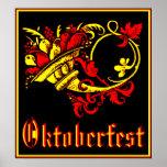 Oktoberfest Cornucopia Posters