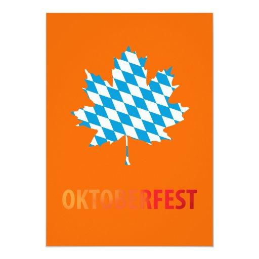 Oktoberfest Custom Announcements