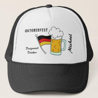 Oktoberfest custom name & text hats