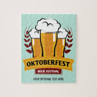 Oktoberfest custom puzzle