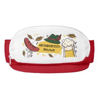 Oktoberfest custom text visors