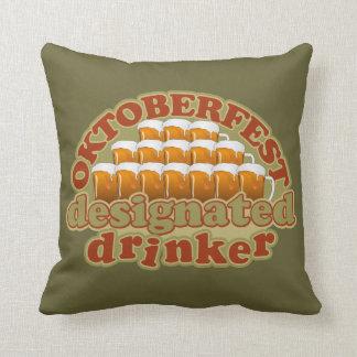 OKTOBERFEST custom throw pillow