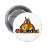 Oktoberfest Dachshund 2 Inch Round Button
