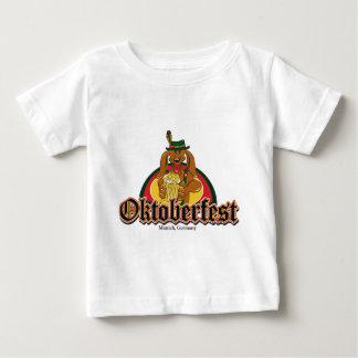 Oktoberfest Dachshund Beer Baby T-Shirt
