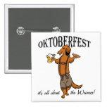 Oktoberfest Dachshund Buttons