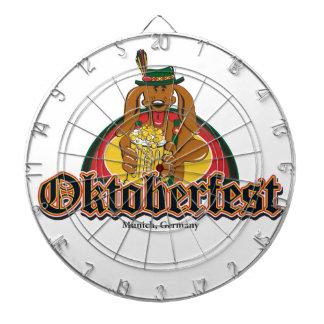 Oktoberfest Dachshund Dartboards