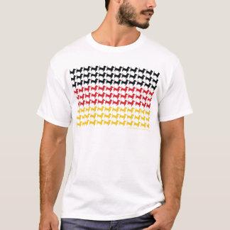Oktoberfest Dachshund Flag T-Shirt