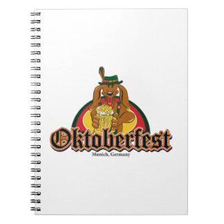 Oktoberfest Dachshund Notebook