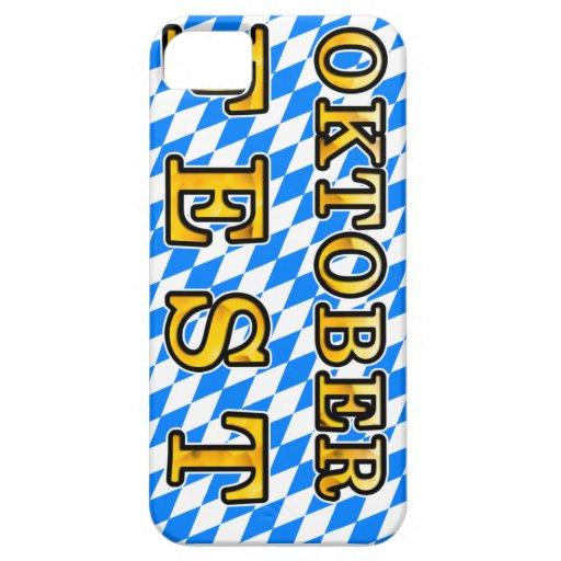 """Oktoberfest"" (dark outline) iPhone 5 Covers"