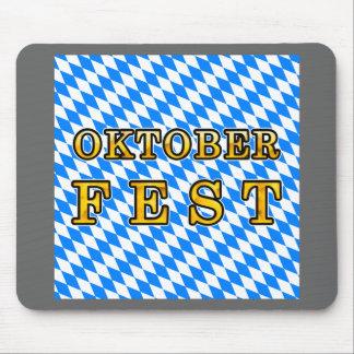 Oktoberfest dark outline mousepad