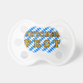 """Oktoberfest"" (dark outline) Baby Pacifiers"