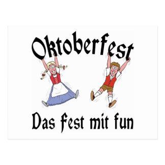Oktoberfest Das Fest Mit Fun Postcard