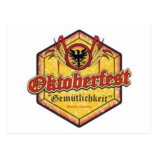 Oktoberfest - diseño de Pentágono Postales