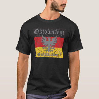Oktoberfest Distressed Flag T-Shirt