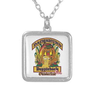 Oktoberfest Dopplebock Dachshund Custom Jewelry
