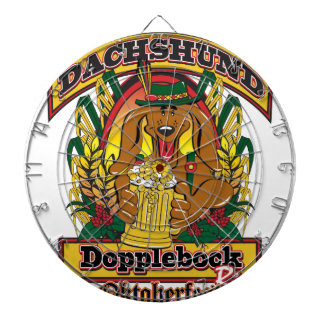 Oktoberfest Dopplebock Dachshund Dart Boards