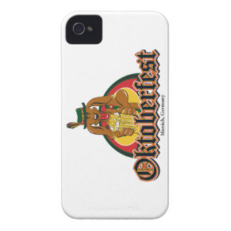 Oktoberfest Doxie Beer iPhone 4 Case-Mate Cases