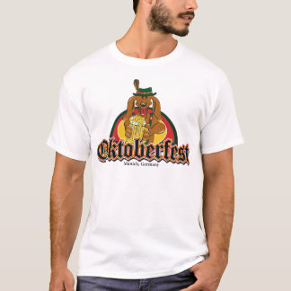 Oktoberfest Doxie Beer T-Shirt