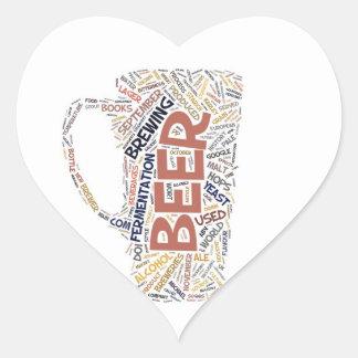 Oktoberfest Drinking Heart Sticker
