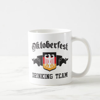 Oktoberfest drinking team classic white coffee mug
