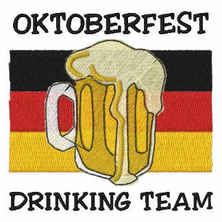 Oktoberfest Drinking Team Embroidered Sweatshirt