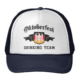 Oktoberfest drinking team mesh hat