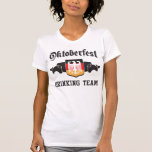Oktoberfest drinking team t shirt