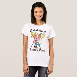 Oktoberfest Drinking Team T-Shirt