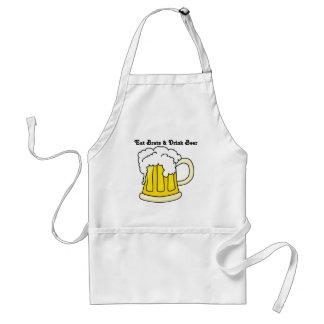 Oktoberfest: Eat Brats & Drink Beer Adult Apron