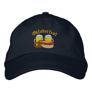Oktoberfest Embroidered Cap Baseball Cap