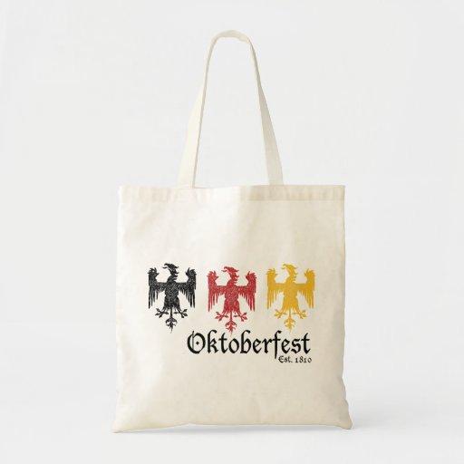 Oktoberfest Est. 1810 Bolsa Lienzo